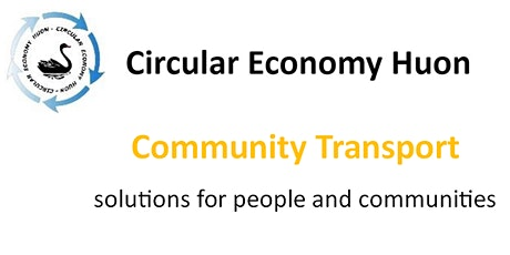 Can Community Transport fill the Gap between public & private transport? tickets