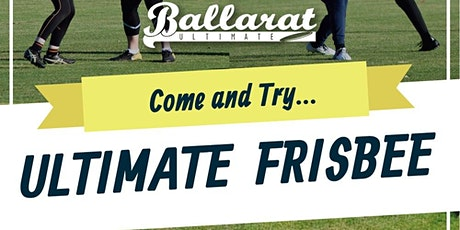 Ballarat Ultimate Come and Try Session 2 tickets