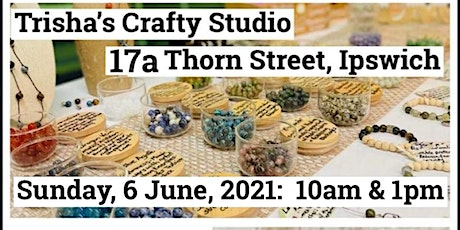 Create Your Own Gemstone Aromatherapy Bracelet - Workshop tickets