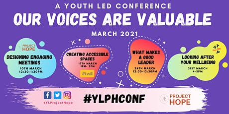 Our Voices are Valuable -  A Youth-Led Conference (March) tickets