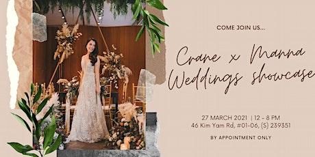 Crane x Manna Weddings Bridal Showcase tickets