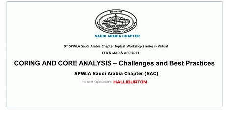 CORING AND CORE ANALYSIS- Challenges and Best Practices - Session 2 biglietti