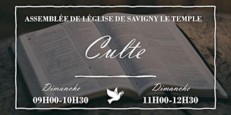 (SAVIGNY) CULTE ANTENNE DE LA MÉTROPOLE MERCI SEIGNEUR billets