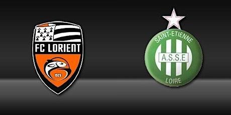 FOOTBALL@!! Lorient - Saint-Etienne E.n direct Live tv 2021 billets