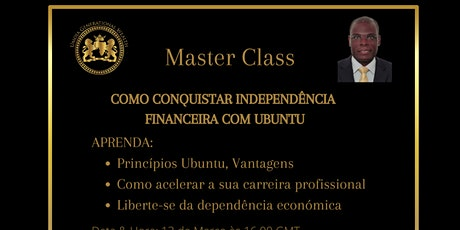 Independencia Financeira com Ubuntu (Master Class) ingressos