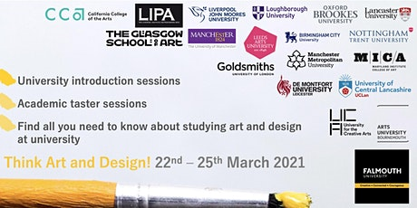 Think Art & Design! A guide to studying art and design in the UK & USA tickets