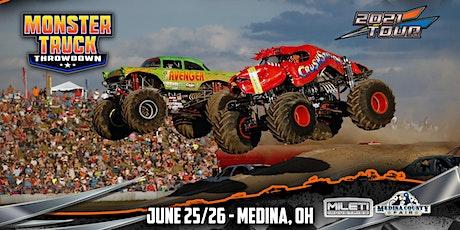 Monster Truck Throwdown - Medina, Ohio - June 25/26, 2021 tickets