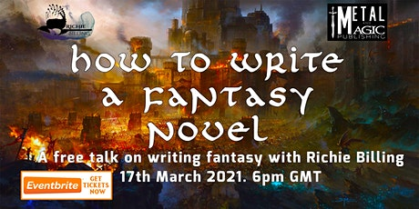How To Write A Fantasy Novel tickets