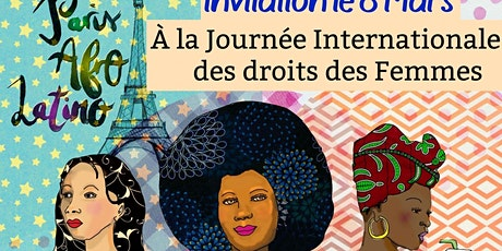 Invitation *Journée Internationale de la Femme // Lundi 8 Mars billets