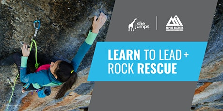 WA SheJumps Learn to Lead + Rock Rescue tickets
