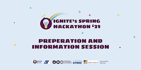 Ignite Spring Hackathon - Preparation session entradas