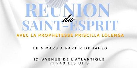 Reunion du Saint Esprit 3 billets