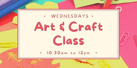 Kids Art & Craft Class tickets