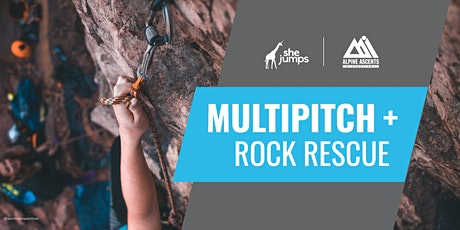 WA SheJumps Multipitch + Rock Rescue tickets