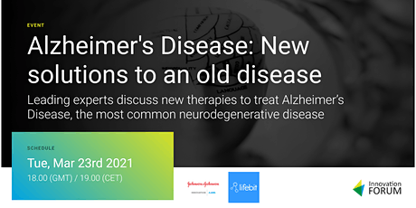 Alzheimer's disease: new solutions to an old disease tickets