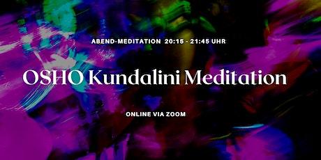 Aktiv-Meditationsabend mit VEEREJ's Our Sacred Earth Meditation (online) Tickets