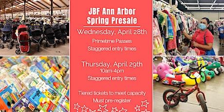 JBF Presale Shopping April 28-29 tickets