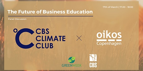 Green Week x CBS Climate Club: The Future of Business Education tickets
