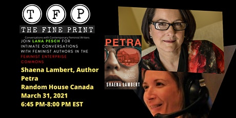 FEMINIST WRITING: The Fine Print Episode #6  w /Shaena Lambert tickets