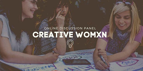 CREATIVE WOMXN by SAE Athens | Online Discussion Panel tickets