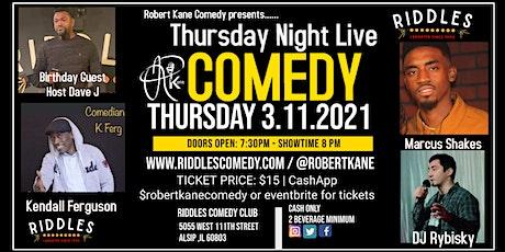 Robert Kane Presents Thursday Night Live tickets