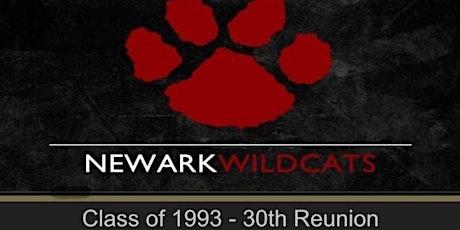 Newark High School Class of 1993 30th Reunion tickets