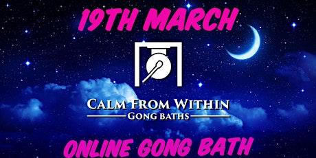 Online Gong Bath biglietti