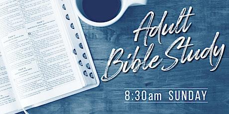 Bible Study 8:30  am tickets