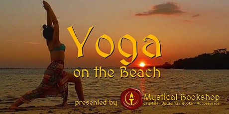 Sunset & Full Moon Beach Yoga & Spiritual Experience tickets