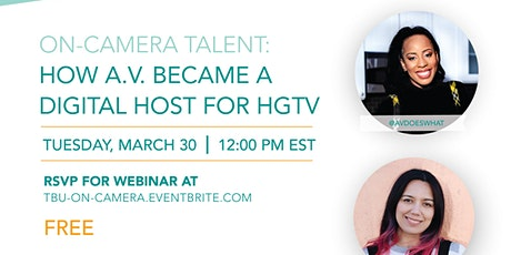 On-Camera Talent: How To Become a Digital Host for Brands Like HGTV tickets
