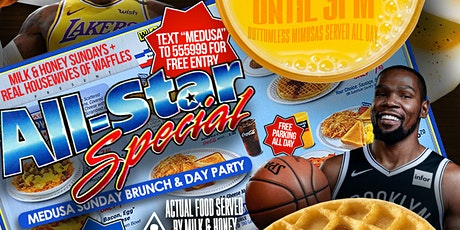 ALLSTAR WEEKEND BRUNCH & DAY PARTY @ MEDUSA tickets
