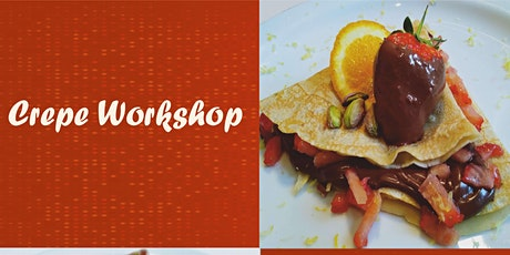 Savoury & Sweet Pancakes – Free Workshop on Zoom tickets