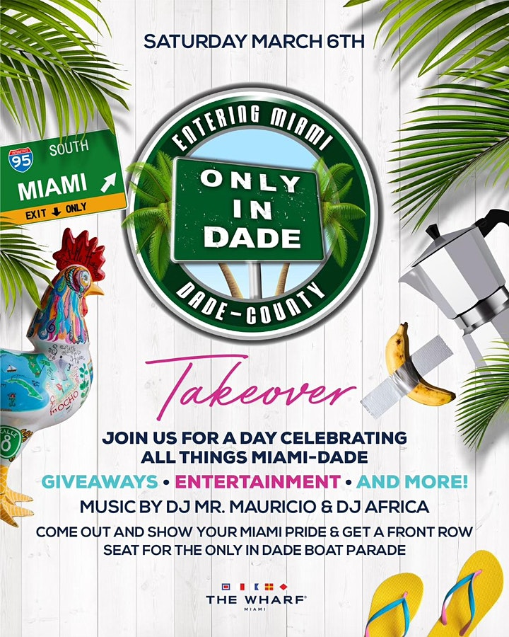ONLY in DADE PRESENTS: MIAMI DAY at THE WHARF image