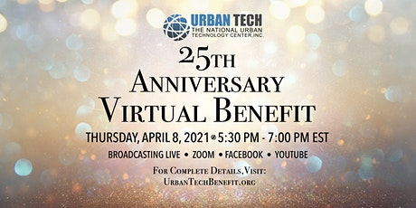Urban Tech's 25th Anniversary Virtual Benefit tickets