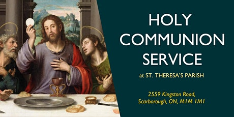 COMMUNION SERVICE: Sunday, 1:30 PM billets