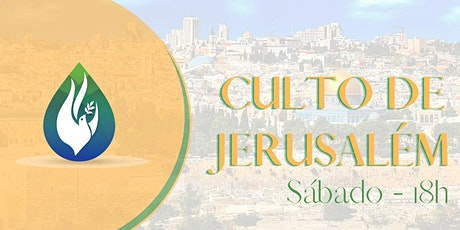 Culto de Jerusalém ingressos