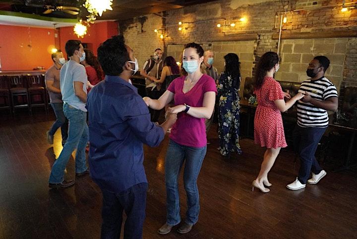 Salsa 3-HR Absolute Beginner Bootcamp Sunday. 07/25 image