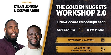 The Golden Nuggets workshop 2.0: Lifehacks voor persoonlijke groei tickets