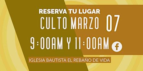 CULTO 07 DE MARZO 2021 tickets