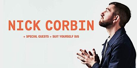 NICK CORBIN - Plus Guests & DJ's - Bristol tickets