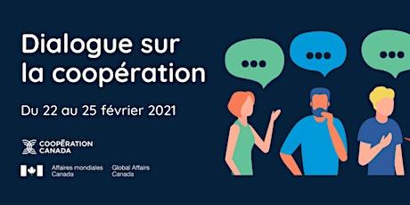 Cooperation Dialogues/Dialogue sur la coopération billets