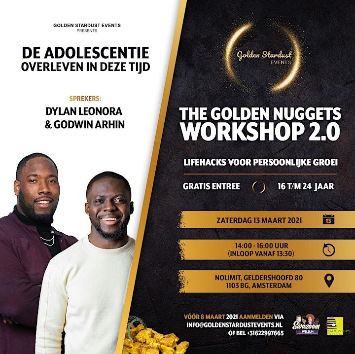 Afbeelding van The Golden Nuggets workshop 2.0: Lifehacks voor persoonlijke groei