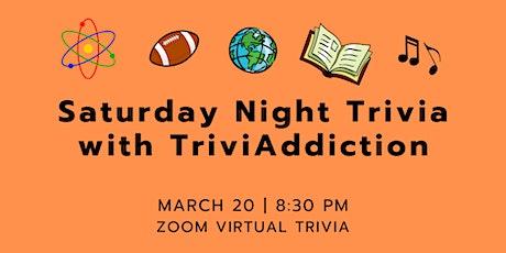 Saturday Night Trivia - All Categories tickets