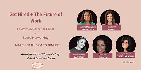 Get Hired and The Future of Work- Virtual Recruiter Panel + Networking tickets