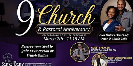 9th Church Anniversary Service tickets