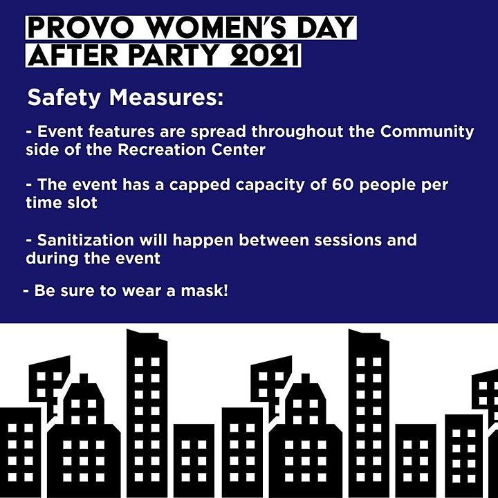 Provo Women's Day After Party 2021 image
