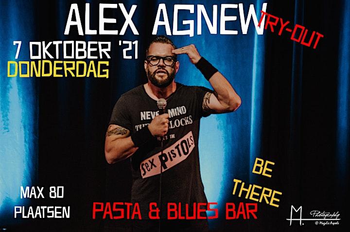 Afbeelding van Alex Agnew @Pasta & Blues Bar