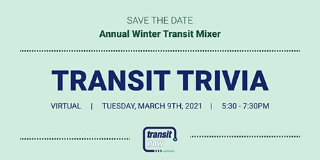 Transit Trivia Winter Transit Mixer tickets