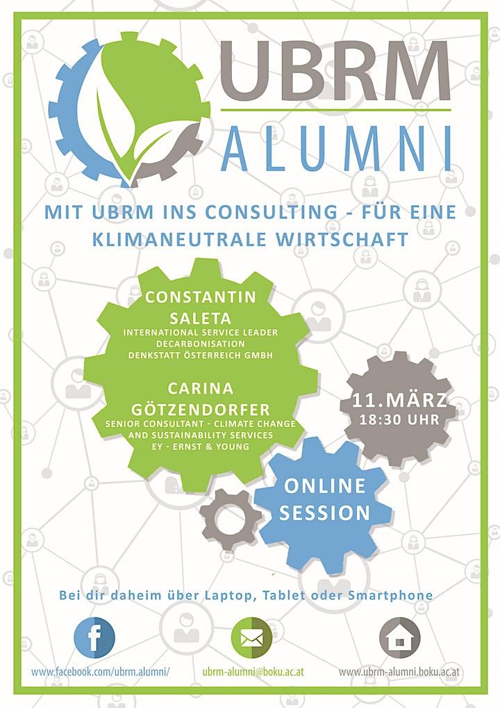 Mit UBRM ins Consulting - für eine klimaneutrale Wirtschaft: Bild