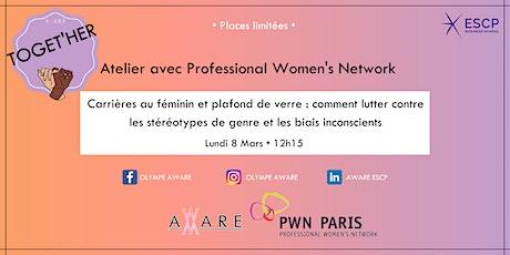 """Atelier PWN: """"Carrières au féminin et plafond de verre"""" billets"""